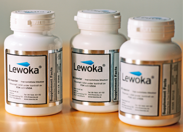 Cans of Lewoka pills - hormone stimulation